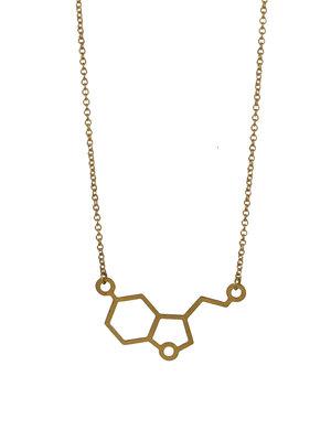 Short molecule serotonin necklace